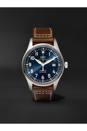 IWC SCHAFFHAUSEN Homem Relógios - Pilot's Mark XVIII Le Petit Prince Edition Automatic 40mm Stainless Steel and Textile Watch, Ref. No. IW327004