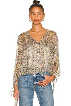 Tularosa Elodie Top in - Pink. Size L (also in M, S, XL, XS, XXS).