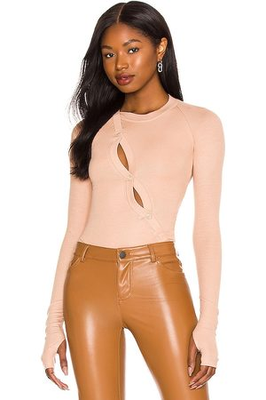 Alix NYC Pearson Bodysuit in - Nude. Size L (also in M, S, XS).