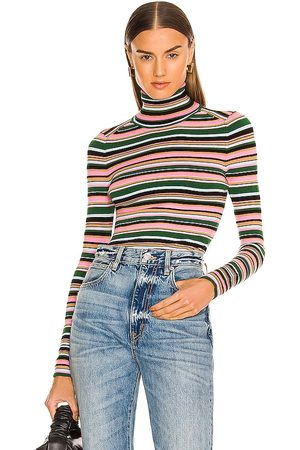 JoosTricot Mulher De gola alta - Long Sleeve Turtleneck in - Pink. Size L (also in M, S, XS).