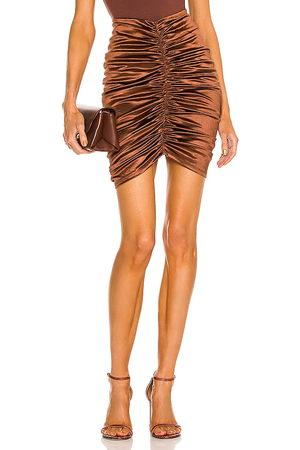 Michael Costello X REVOLVE Crosby Mini Skirt in - . Size L (also in M, S, XL, XS, XXS).