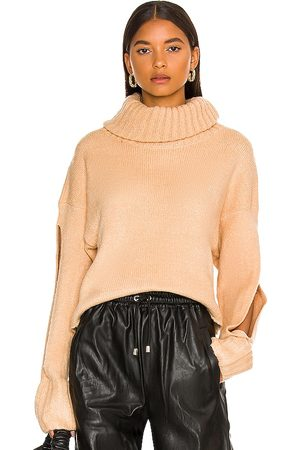 KENDALL + KYLIE Cropped Turtleneck Sweater in - . Size L (also in M, S, XS).