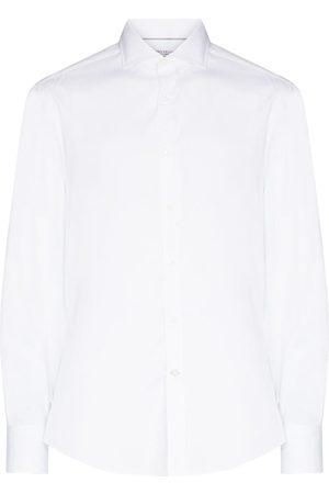 Brunello Cucinelli Long-sleeve cotton shirt