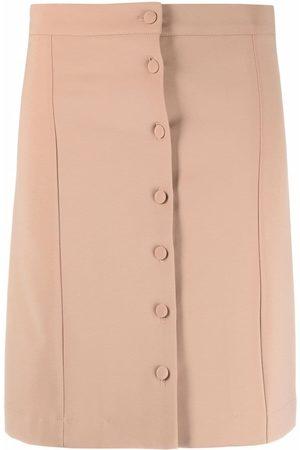 La Seine & Moi High-waisted mini skirt