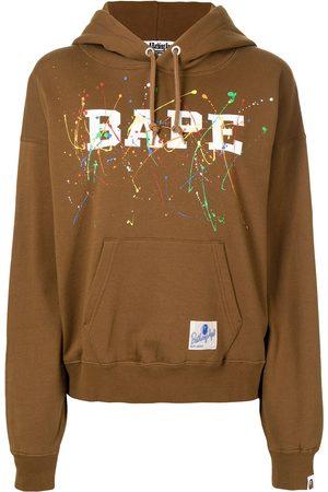A Bathing Ape Logo-print hoodie