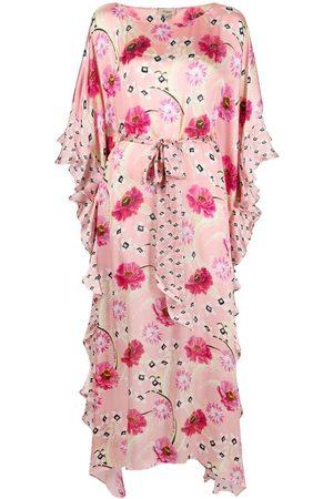 TEMPERLEY LONDON Dahlia kaftan silk dress