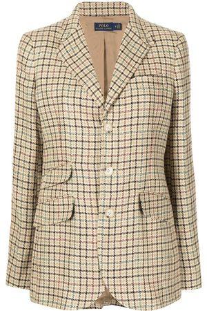Polo Ralph Lauren Houndstooth check pattern blazer
