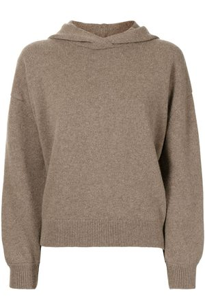 PRINGLE OF SCOTLAND Wool-cashmere hooded jumper