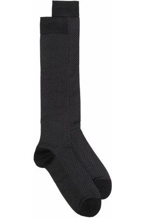 Marcoliani Spot-knit socks