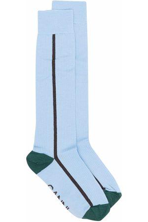 Ganni Calcetines striped socks