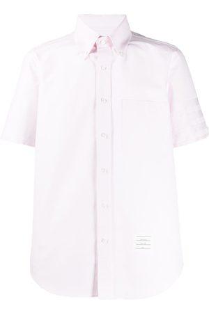 Thom Browne Satin weave 4-Bar shirt