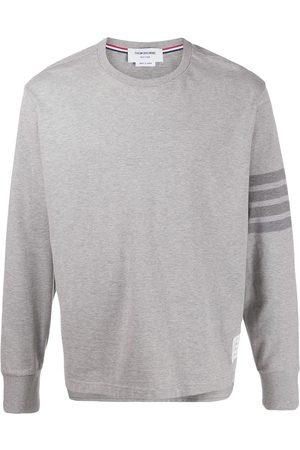 Thom Browne Tonal 4-Bar rugby T-shirt