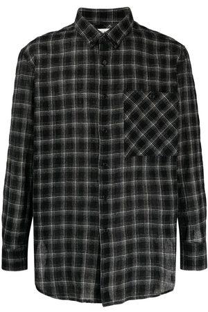 Saint Laurent Checked flannel shirt
