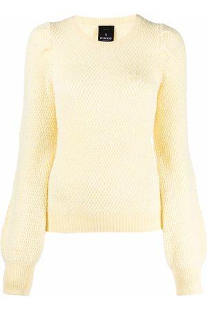 Pinko Partecipare puff-sleeve jumper