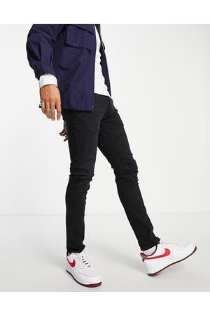 JACK & JONES Intelligence Glenn slim fit jeans in black