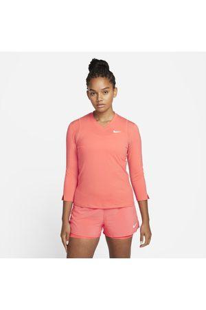 Nike Camisola de ténis de manga a 3/4 Court Dri-FIT UV Victory para mulher
