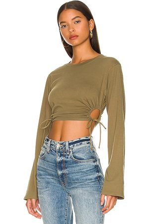 Lovers and Friends Ali Top in - Olive. Size M (also in XXS, XS, S).
