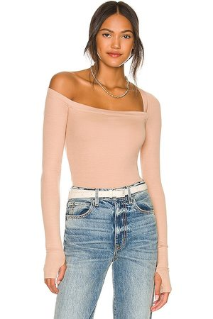 Alix NYC Hester Bodysuit in - Nude. Size L (also in XS, S, M).