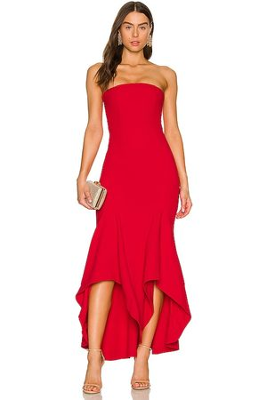 Lovers and Friends Urgonia Gown in - Red. Size L (also in XXS, XS, S, M, XL).
