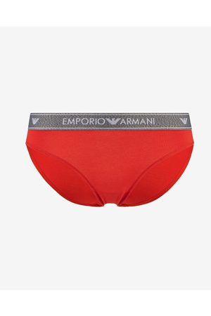 Emporio Armani Briefs Red Orange