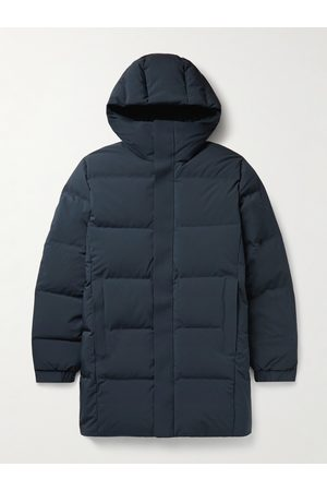 NN.07 Homem Parkas - Golf Quilted Stretch-Shell Hooded Down Parka