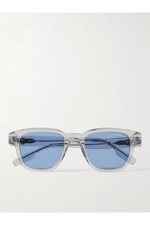 Montblanc Homem Óculos de Sol - Square-Frame Tortoiseshell Acetate Sunglasses