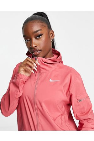 Nike Mulher Casacos - Impossibly Light packable hooded jacket in pink