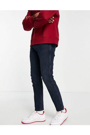 Wrangler Larston slim fit jeans-Black