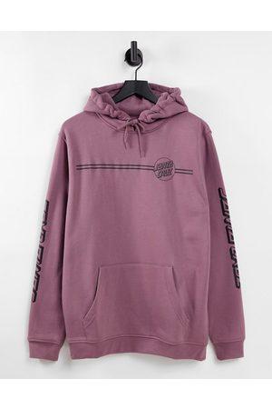 Santa Cruz Homem Camisolas com capuz - Opus dot backprint hoodie in pink