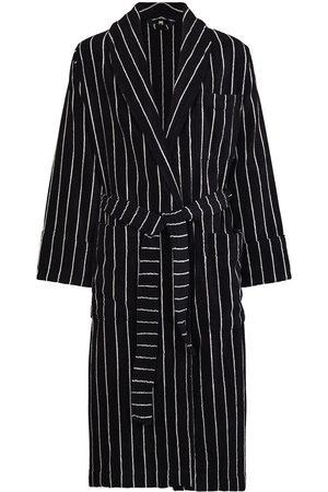 Tekla Striped organic cotton dressing gown