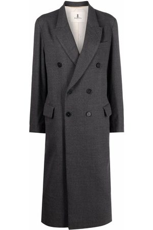 BARENA Double breasted mid-length coat
