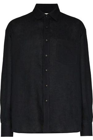 COMMAS Long-sleeve linen shirt