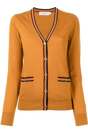Tory Burch Mulher Camisolas - Button-up knitted cardigan