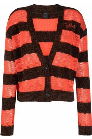Pinko Striped V-neck cardigan