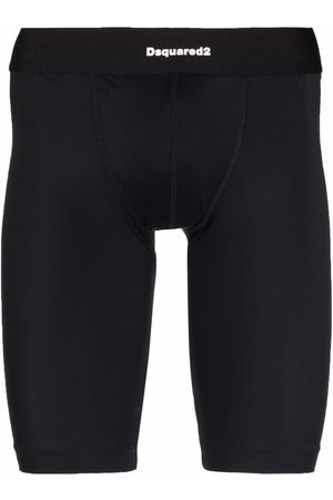 Dsquared2 Logo waistband thermal leggings