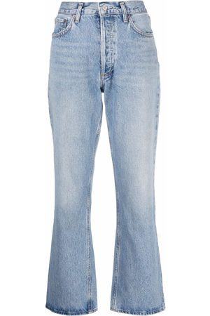 AGOLDE High-waisted bootcut jeans