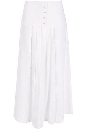 Alcaçuz Acelerado pleated skirt