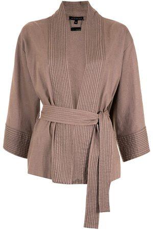 Alcaçuz Alda belted kimono
