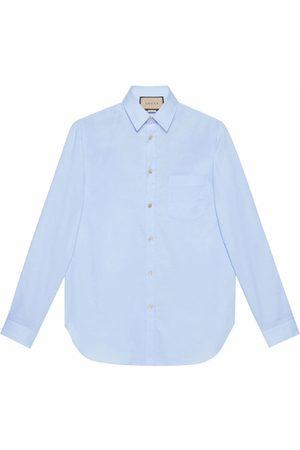 Gucci Cotton-poplin Oxford shirt