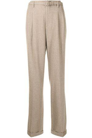 Ralph Lauren Mulher Calças Formal - Straight-leg tailored trousers