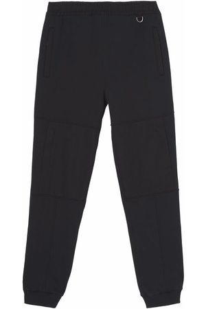Burberry Contrast panel D-ring track pants