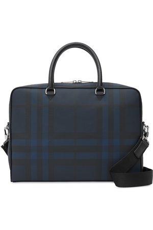 Burberry London check briefcase