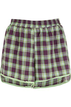 Olympiah Picnic check shorts