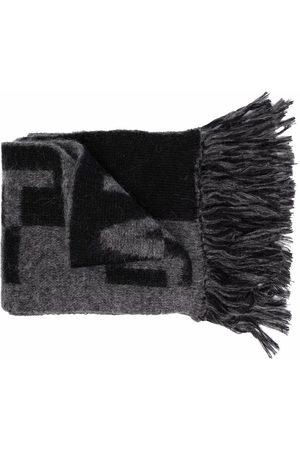 Saint Laurent Homem Cachecóis & Echarpes - Logo-print scarf
