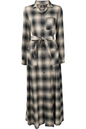 Ralph Lauren Esther check-print long shirt dress