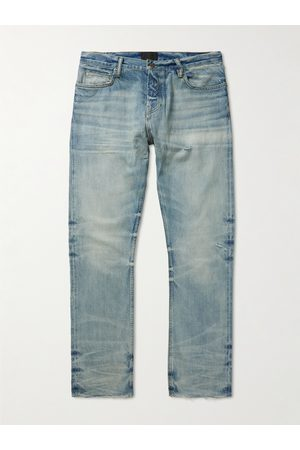 Fear of God Distressed Straight-Leg Jeans