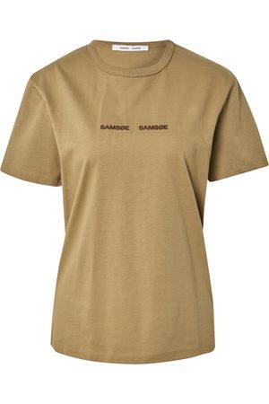 Samsøe Samsøe Mulher T-shirts & Manga Curta - Camisa 'VIGDIS