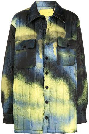 MARQUES'ALMEIDA Mulher Casacos de Inverno - Tie dye-print padded coat