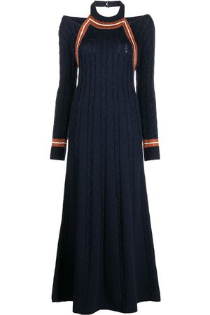 Rosie Assoulin Cable-knit midi dress