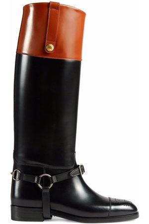 Gucci Horsebit knee-high boots